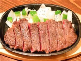ステーキは〆に食べたい!