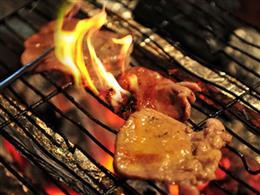 仙台牛タン炙り炭火焼
