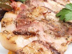 やんばる豚ロースのグリル焼き