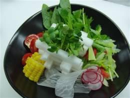 野菜たっぷり大根サラダ