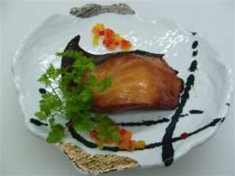 サワラ西京漬のスモーク