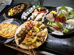 60種類のメニューから選べる大人気の食べ放題