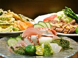 刺身も食べ放題に+500円で付けることができます。