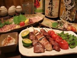 地鶏炉端と九州の焼酎 あしどり 泉崎