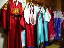 大好評!!韓国衣装の無料貸出しも行っております。