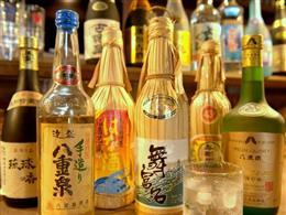 地酒・泡盛の品揃え充実、うれしい2合入り飲み切りボトルも41種
