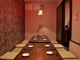 個室も完備し、大小ご宴会ご利用も可能