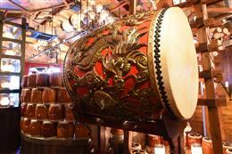 タイムセールでは大太鼓が店内に鳴り響く