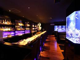 aquarium Bar Blue Earth お店の雰囲気