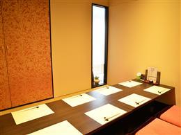完全個室の座敷席