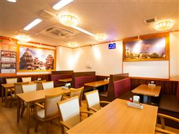 KANTIPUR gold CURRY HOUSE お店の雰囲気