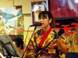 島唄ライブで沖縄を満喫