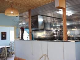 広々なオープンキッチン