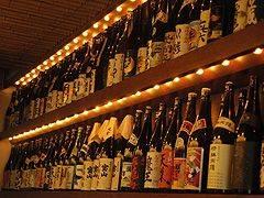 焼酎の銘柄は200種類