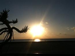 夕日もキレイに見えます♪