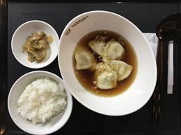 鷄清湯水餃(水餃子)※ランチタイム白米小サービス