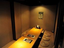 個室、半個室等 各種空間あり