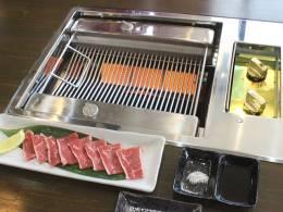 肉が焦げない無煙焼肉ロースター